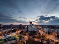 Romania: panorama della città di arad