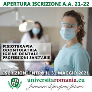 iscrizioni professioni sanitarie 2021 2022