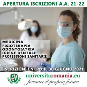 lauree professioni sanitarie romania